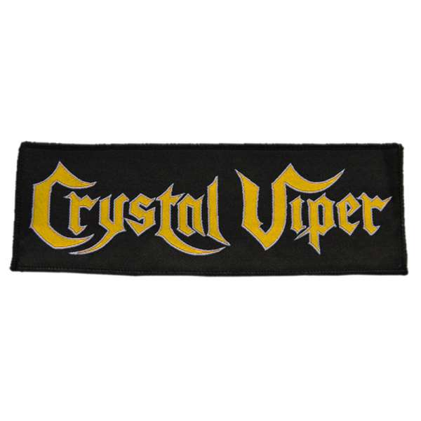 CRYSTAL VIPER - Tales Of Fire And Ice - Patch - Shop Exclusive !