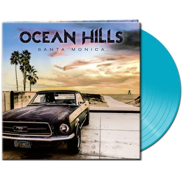 OCEAN HILLS - Santa Monica - Ltd. Gtf. Clear Light Blue Vinyl