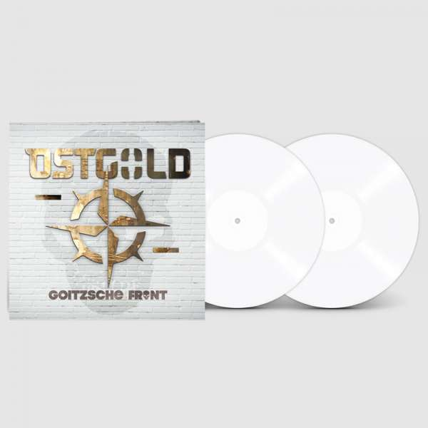 GOITZSCHE FRONT - Ostgold - Ltd. Gatefold WHITE Vinyl LP