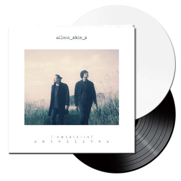 SILENT SKIES - Satellites - Ltd. Gatefold BLACK & WHITE 2-LP
