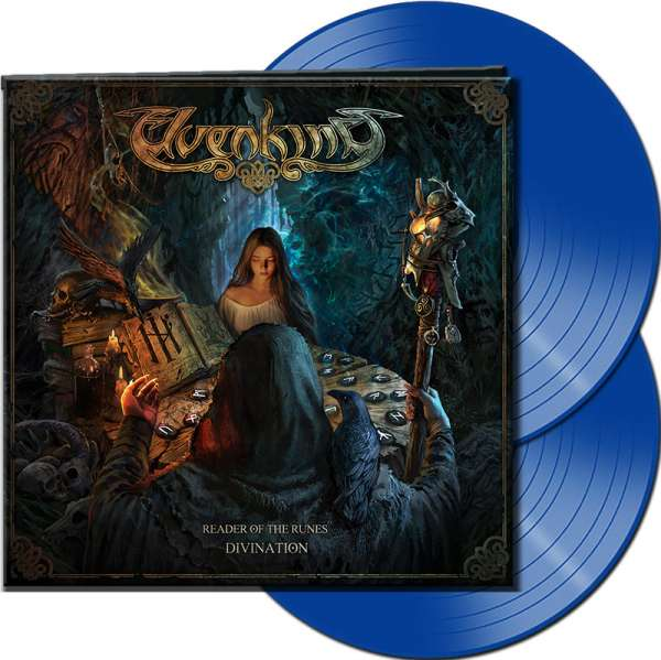 ELVENKING - Reader Of The Runes: Divination - Ltd. Gatefold BLUE 2-LP