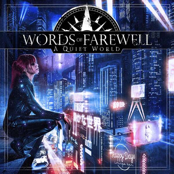 Words Of Farewell - A Quiet World - CD Jewelcase