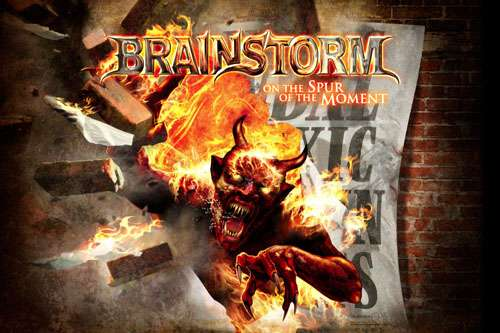 BRAINSTORM - On The Spur Of The Moment (Flag)