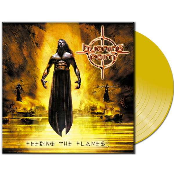 BURNING POINT - Feeding The Flames - Ltd. CLEAR YELLOW LP
