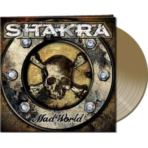 SHAKRA - Mad World - Ltd. Gatefold GOLD Vinyl