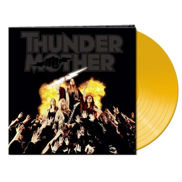 THUNDERMOTHER - Heat Wave - Ltd. Gatefold CLEAR ORANGE Vinyl