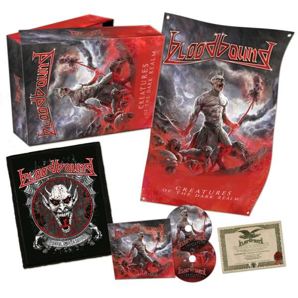 BLOODBOUND - Creatures Of The Dark Realm - Ltd. Boxset
