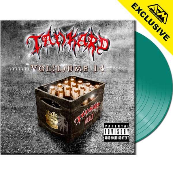 TANKARD - VOL(L)UME 14 - Ltd. Green Vinyl - Shop exclusive!