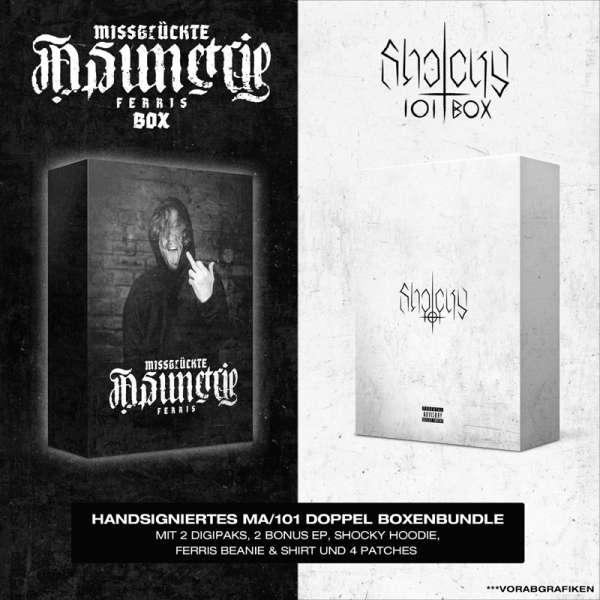 SHOCKY - 101 / FERRIS - Missglückte Asimetrie - Ltd. Boxset-Bundle