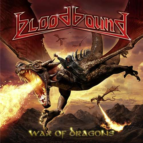 BLOODBOUND - War Of Dragons - CD Jewelcase