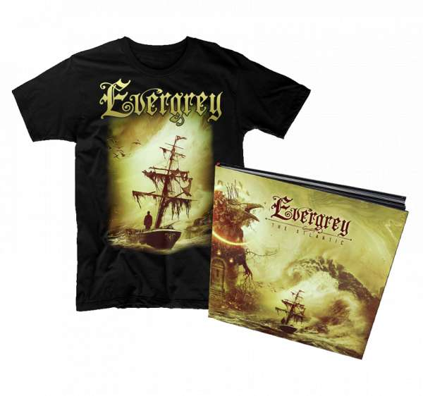 EVERGREY - The Atlantic - Ltd. Bundle: Hardcover-Artbook + T-Shirt M-XXL