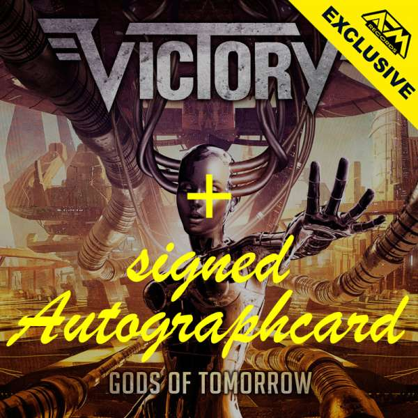 VICTORY - Gods Of Tomorrow - Ltd. Digipak-CD + Signed Autographcard - Shop Exclusive!