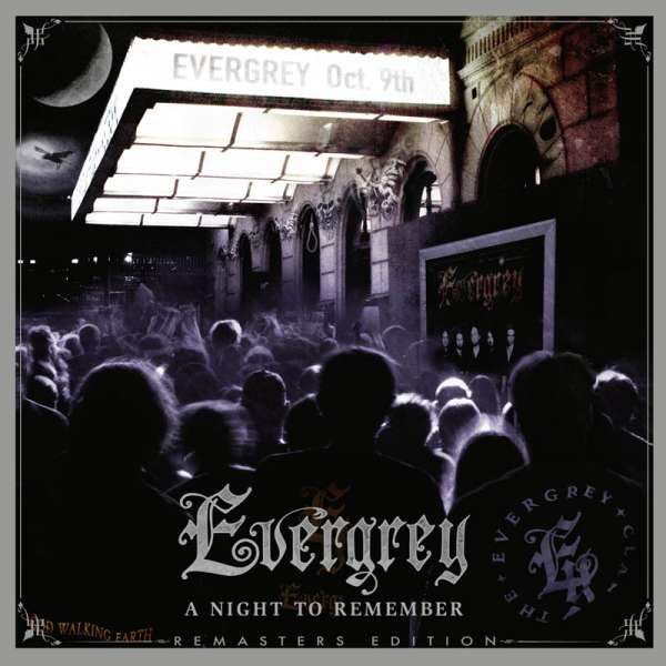 EVERGREY - A Night to Remember - Live 2004 (Remasters Edition) - 2-CD + 2-DVD Digipak