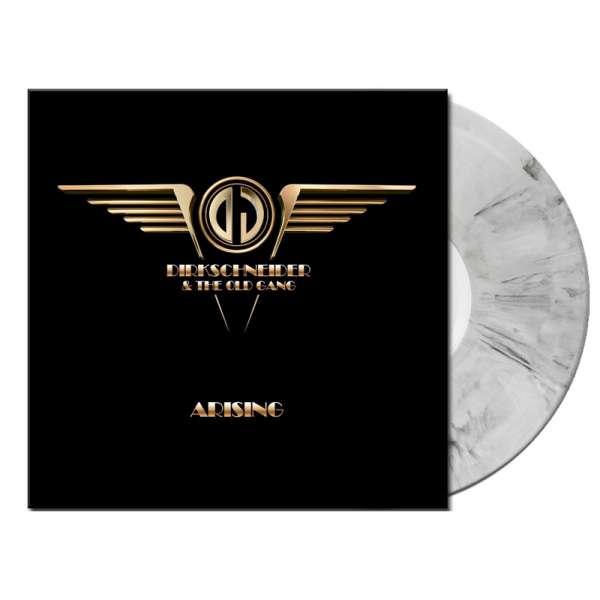 "DIRKSCHNEIDER & THE OLD GANG - Arising EP - Ltd. WHITE/BLACK MARBLED 12"" MLP"