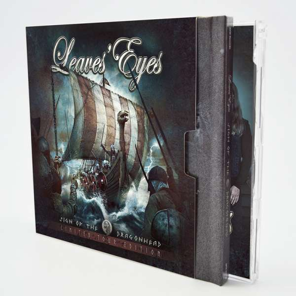 LEAVES' EYES - Sign Of The Dragonhead (Limited Tour Edition) - Bundle (2-CD Digibook + CD-Single)