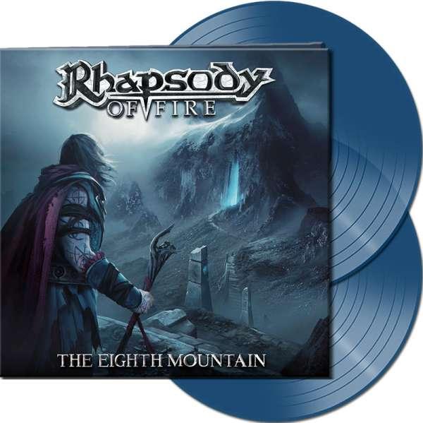 RHAPSODY OF FIRE - The Eighth Mountain - Ltd.Gtf.CLEAR BLUE 2-LP