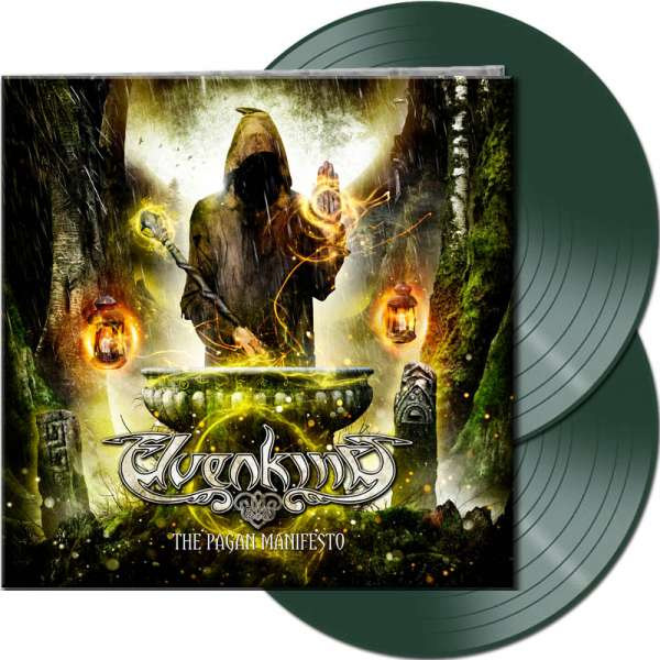 ELVENKING - The Pagan Manifesto - Ltd. Gtf. Dark Green 2-Vinyl