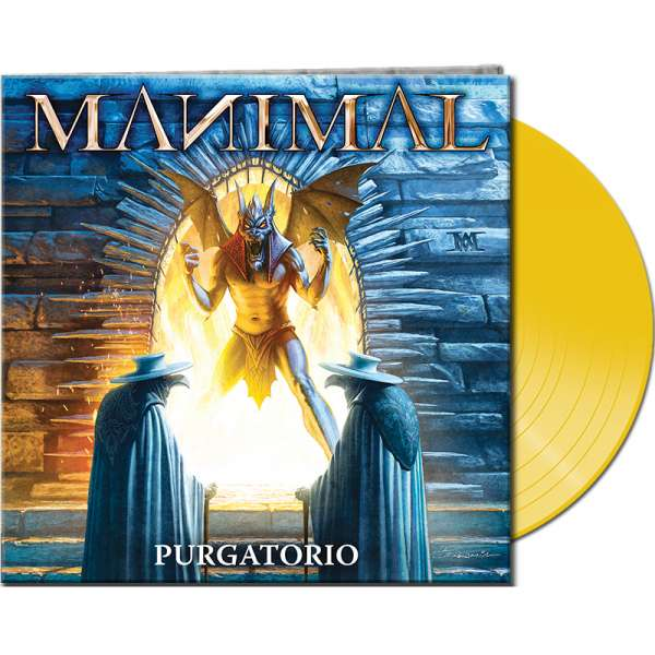 MANIMAL - Purgatorio - Ltd. Gatefold YELLOW Vinyl