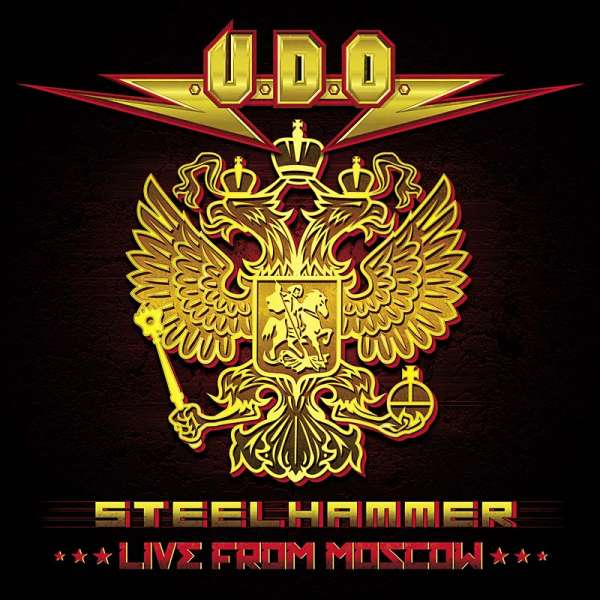 U.D.O. - Steelhammer – Live From Moscow (BlueRay/ Digipak)