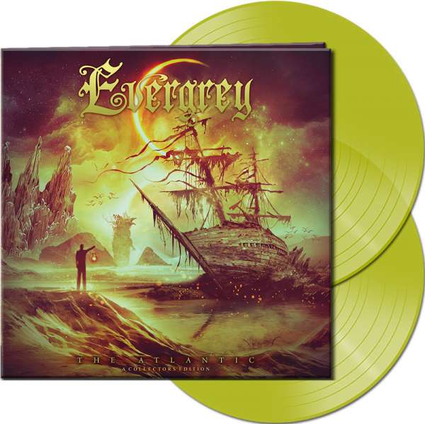 EVERGREY - The Atlantic: A Collectors Edition - Ltd. Gatefold CLEAR YELLOW 2-LP