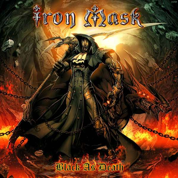 IRON MASK - Black As Death - CD