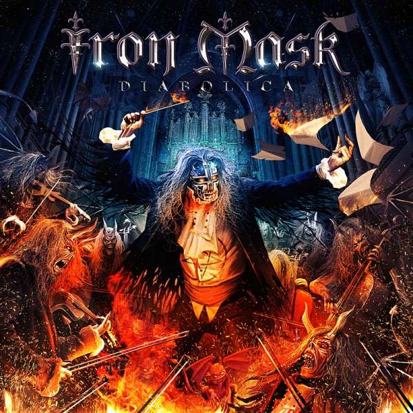 Iron Mask - Diabolica - CD Jewelcase