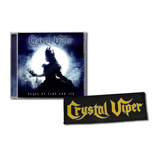 CRYSTAL VIPER - Tales Of Fire And Ice - Ltd. Bundle: CD + Patch - Shop Exclusive !