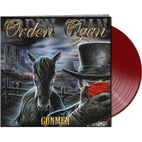 ORDEN OGAN - Gunmen - Ltd. Gtf. Red Vinyl