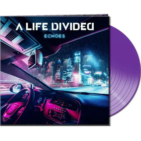 A LIFE DIVIDED - Echoes - Ltd. Gatefold CLEAR PURPLE Vinyl