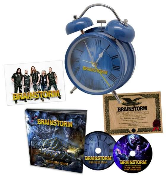BRAINSTORM - Midnight Ghost - Ltd. Boxset