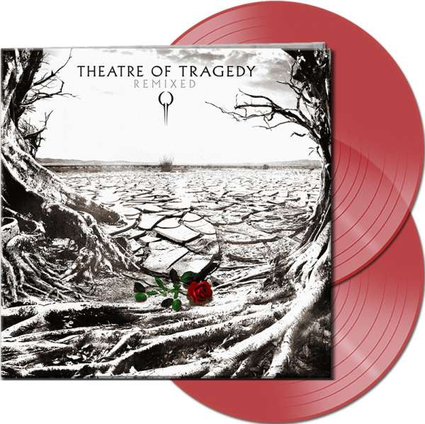THEATRE OF TRAGEDY - Remixed - Ltd. Gatefold CLEAR RED 2-Vinyl