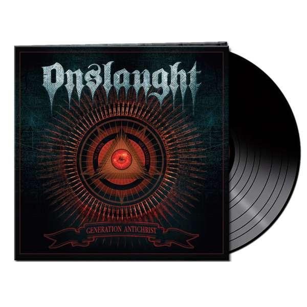 ONSLAUGHT - Generation Antichrist - Ltd. Gatefold BLACK Vinyl