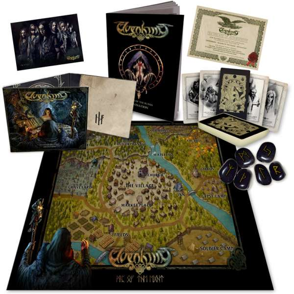 ELVENKING - Reader Of The Runes: Divination - Ltd. Boxset