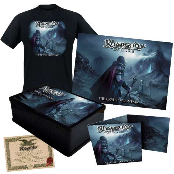 RHAPSODY OF FIRE - The Eighth Mountain - Ltd. Boxset (incl. T-Shirt M-XL)
