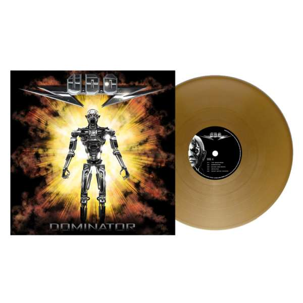 U.D.O. - Dominator - Ltd. Gold Vinyl Re-Release