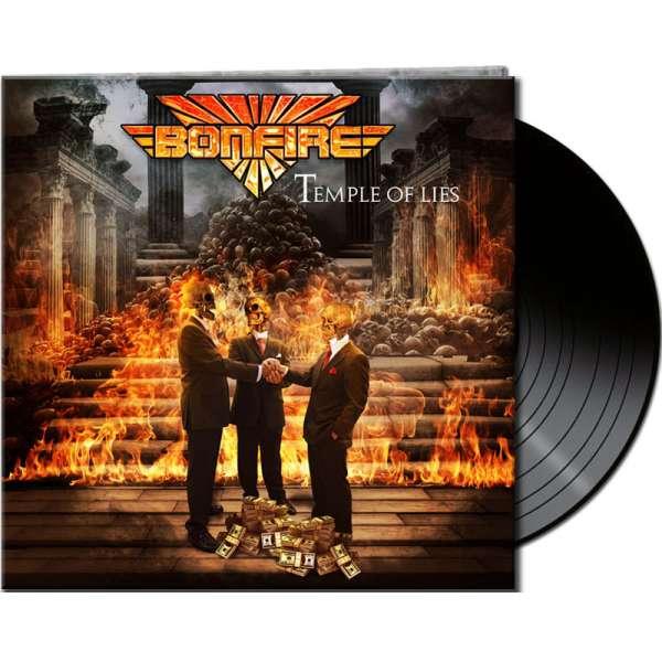 BONFIRE - Temple Of Lies - Ltd. Gtf. Black Vinyl