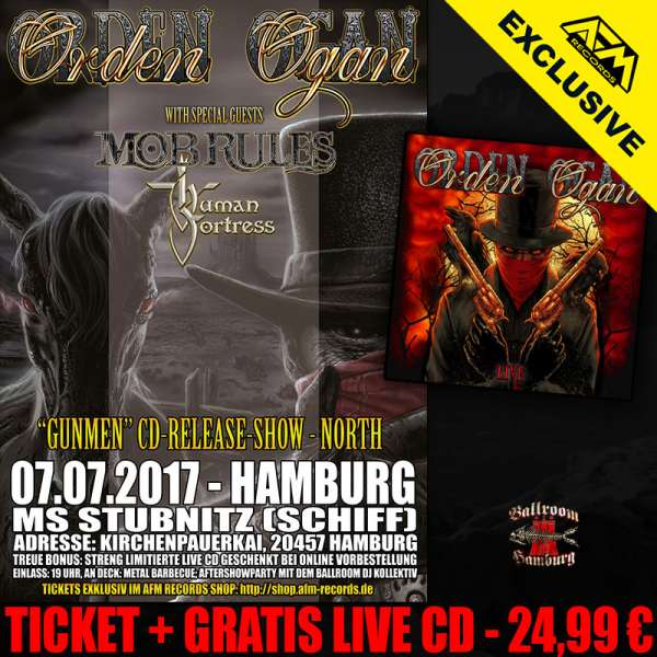 Gunmen Release Show Hamburg - Ticket