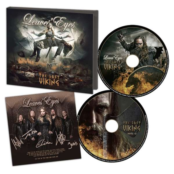 LEAVES' EYES - The Last Viking - Ltd. Digipak 2-CD - Collector´s Edition!