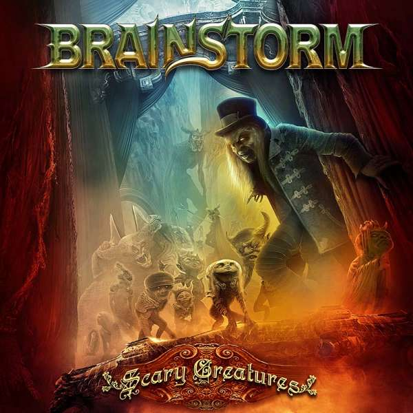 Brainstorm – Scary Creatures - CD Jewelcase