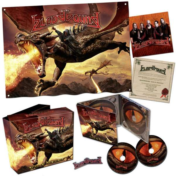 BLOODBOUND - War Of Dragons - Ltd. Boxset