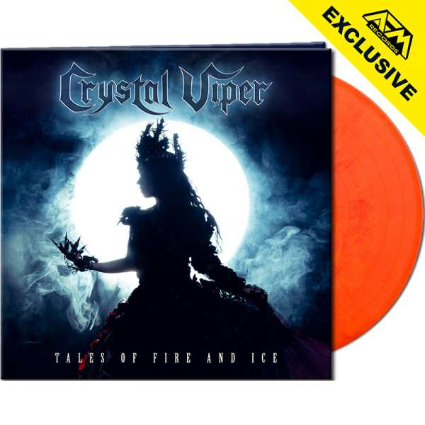 CRYSTAL VIPER - Tales Of Fire And Ice - Ltd. Gatefold ORANGE/RED MARBLED LP - Shop Exclusive !