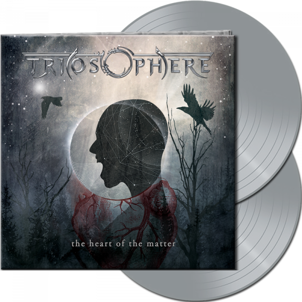 TRIOSPHERE - The Heart Of The Matter (Re-Release) - Ltd. Gatefold SILVER 2-Vinyl