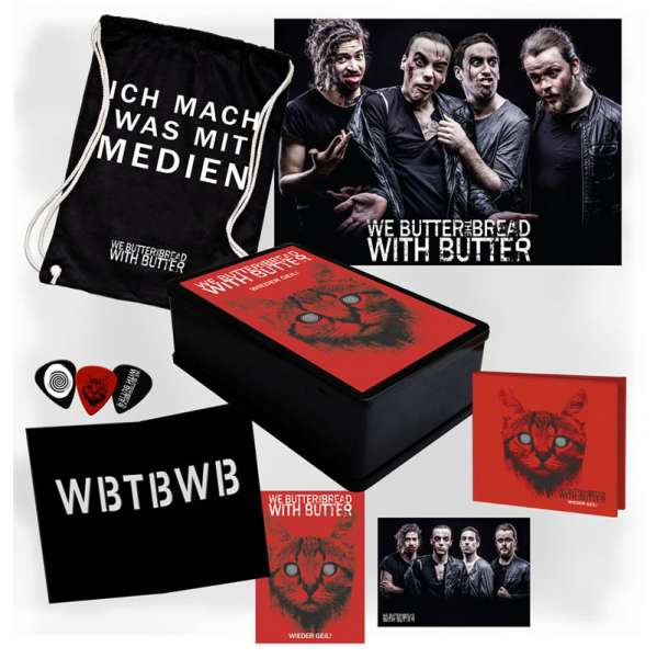 WE BUTTER THE BREAD WITH BUTTER - Wieder geil! - Ltd. Boxset