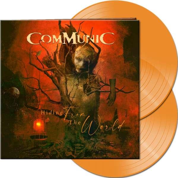 COMMUNIC - Hiding From The World - Ltd. Gatefold CLEAR ORANGE 2-LP