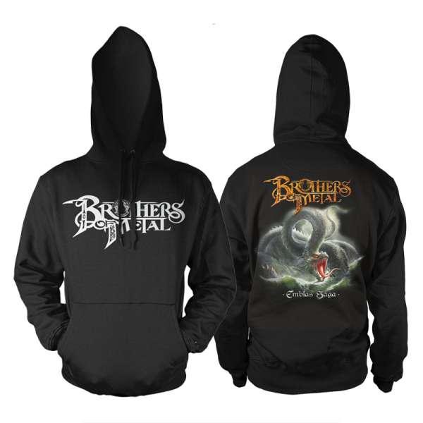 BROTHERS OF METAL - Emblas Saga - Hooded Sweater (Size M-XXL)