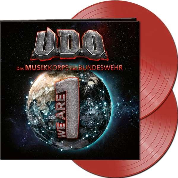 U.D.O. - We Are One - Ltd. Gatefold RED 2-LP