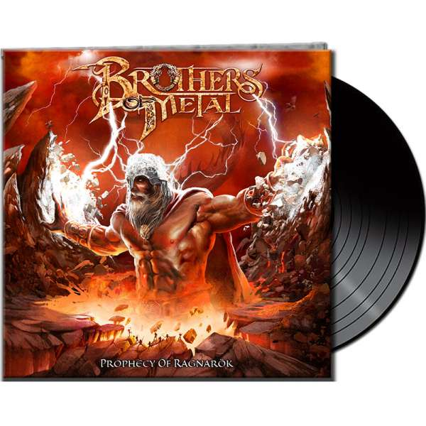 BROTHERS OF METAL - Prophecy Of Ragnarök - Gatefold BLACK Vinyl