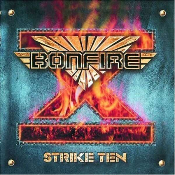 BONFIRE - Strike Ten - CD Jewelcase