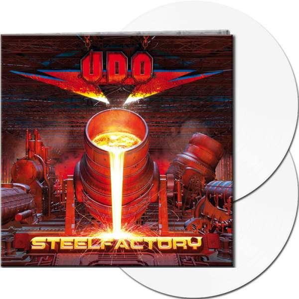 U.D.O. - Steelfactory - Ltd. Gatefold WHITE 2-Vinyl