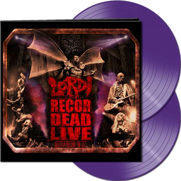 LORDI - Recordead Live - Sextourcism In Z7 - Ltd. Gatefold PURPLE 2-LP
